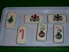 Blizzard Dominoes 2 by Muse - Cards and Paper Crafts at Splitcoaststampers