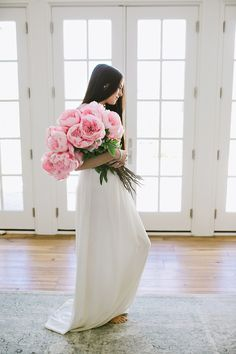 Pink Peonies And A Little Sparkle...