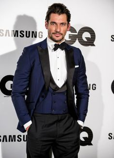"retrointernational: ""DAVID GANDY: GQ STYLE """