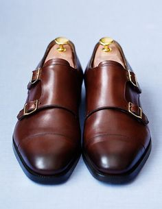 Still not sure how I feel about this whole double monk strap craze. That said, this pair looks solid.