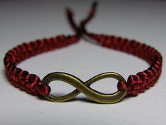 Infinity Bracelet by ByKarianne on Etsy, kr55.00/$9.49