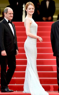 Emma Stone from Stars at the 2015 Cannes Film Festival | E! Online