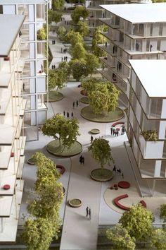 SeiMilano An urban regeneration project - urban landscape - Architecture Villa Architecture, Landscape Architecture Model, Landscape And Urbanism, Concept Architecture, Urban Landscape, Sustainable Architecture, Landscape Plaza, Landscape Designs, Architecture Career