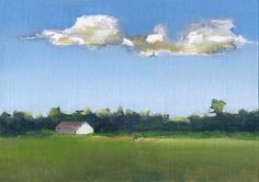 Fair House  Original Oil Painting by ArtistiicAbandon on Etsy, $70.00