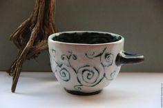 """Чашка """"Сказочные Лабиринты"""" - керамика ручной работы"""