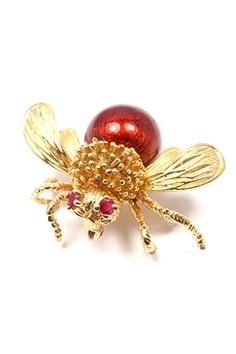 Bumble Bee Brooch: Vintage Tiffany & Co. #tiffany tiffany jewelry cleaning free