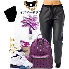 A fashion look from June 2014 featuring MCM backpacks, Chanel earrings and ASOS rings. Browse and shop related looks.