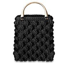 32 πλεκτές τσάντες για εντυπωσιακές εμφανίσεις σε κάθε περίσταση – Beauté την Κυριακή Crochet Clutch, Crochet Handbags, Crochet Purses, Knit Crochet, Crotchet Bags, Knitted Bags, My Bags, Purses And Bags, Hand Knit Bag