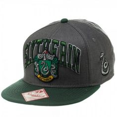 Harry Potter Slytherin Snapback | what a surprise: i want this so fucking bad