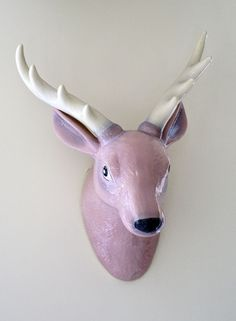 When you want a stag's head without the whole dead stag part.