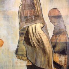 Cathrine Boman - Alt kaster skygge - Acryl på lerret, 90 x 100 cm