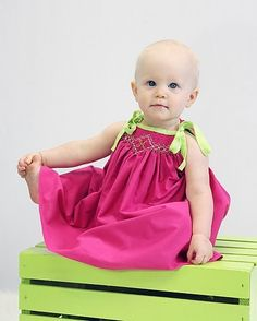 Raspberry Limeade size newborn4T by dayspringdresses on Etsy