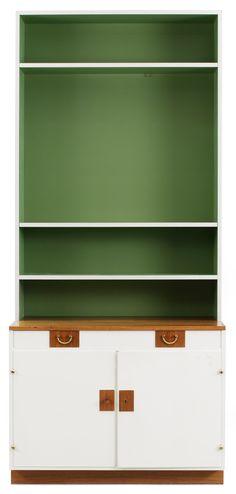 A Josef Frank bookcase by Firma Svenskt Tenn, model 2255
