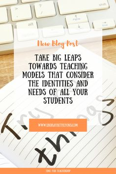 In this blog, we speak with Emma Siesfeld, who walks us through several student supporting strategies from her amazing guide. Writing Lesson Plans, Writing Lessons, Gender Equity, School Sets, Instructional Strategies, Leadership Coaching, Teaching Methods, Changing Jobs, Marketing Jobs