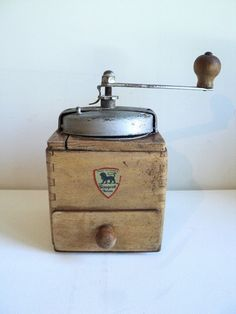 French Vintage Peugeot Frères Coffee Grinder by La Belle Epoque Deco on Gourmly