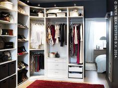 Ikea Walk In Closet Ideas Perfect