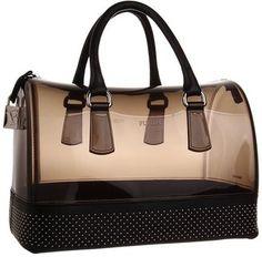 Furla Candy Bag with Studs Grigio Fume Onyx Bags and Luggage Furla
