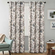 Drapes And Blinds, Grommet Curtains, Drapes Curtains, Blackout Curtains, Bedroom Curtains, Curtains Living, Curtain Panels, Window Panels, Vintage Curtains