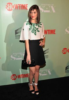 Lizzy Caplan Photos: 'Masters of Sex' Premieres in NYC