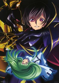 Lelouch and C.C., Code Geass