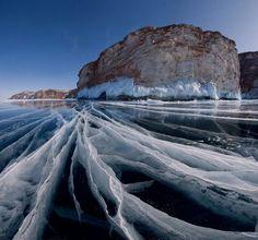 Learn Something @CoolestLifeHack Dec 4 2015 Beautiful frozen lake in Siberia