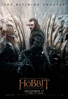 Bardo se prepara para la guerra en el nuevo póster de 'El Hobbit: la batalla de los cinco ejércitos'