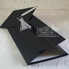 Debbie's Designs: Graduation Gown Cards....Two Of Them!