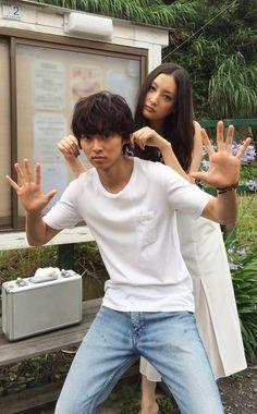 "Team ""Wolf girl & black prince"" [Long preview, 07/04/16] https://www.youtube.com/watch?v=ui-kuuwyT9E     Mirei Kiritani x Kento Yamazaki x Shohei Miura x Shuhei Nomura, J drama ""Sukina hito ga iru koto"", Jul/11/2016"