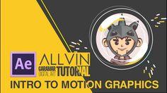 Intro to Motion Graphics   Allvin Garamar