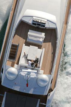 External view Pershing Yacht - Pershing 92' | ferretti