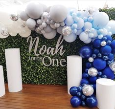 58 Ideas Baby Shower Ides For Boys Backdrop Birthday Parties Shower Party, Baby Shower Parties, Baby Shower Themes, Baby Boy Shower, Baby Shower Decorations, 1st Boy Birthday, First Birthday Parties, First Birthdays, Balloon Decorations