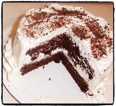 Heavenly Chocolate Cake with Vanilla Buttercream and Chocolate Shavings