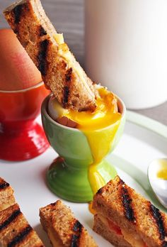 Dippy Eggs and Grilled Cheese Soldiers #breakfast #brunch #eggs ...... Also, Go to RMR 4 awesome news!! ...  RMR4 INTERNATIONAL.INFO  ... Register for our Product Line Showcase Webinar  at:  www.rmr4international.info/500_tasty_diabetic_recipes.htm    ... Don't miss it!