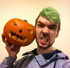It's the 'Jack' o lantern XD Happy Halloween Jack! <3