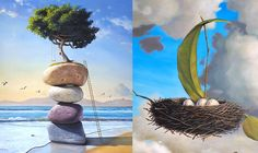 25 Beautiful and Surreal Oil Paintings by Paul David Bond. Follow us www.pinterest.com/webneel