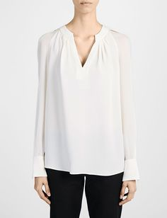 Joseph matt silk and transparent blouse Kiera