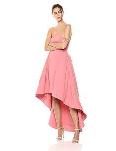 New C/Meo Collective Women's Entice Strapless Maxi Dress Hi-Lo Gown online Valentines Day Dresses, Formal Dresses For Women, Gowns Online, Online Shopping Stores, Black Tie, Designer Dresses, Elegant, Strapless Maxi, Price Point