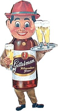 Milwaukee Gettelman Beer man. I remember these commercials from my Milwaukee youth!