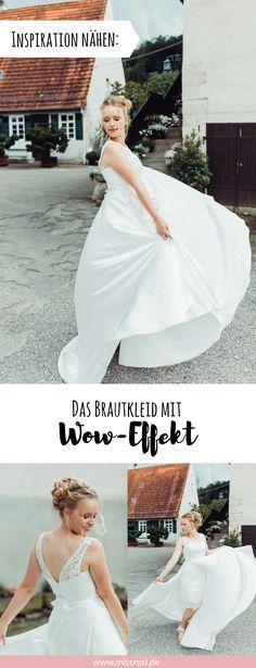 20 besten Hochzeitskleid nähen Bilder auf Pinterest in 2018 ...