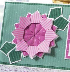 tea-bag folded flower