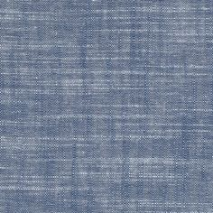 This fabric would make beautiful pillows or great for upholstery. Fabric is sold by the yard, and it is on the lighter end of a blue Chambray.  Material is cotton Solid 54 width
