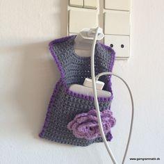 Hæklet iPod / iPhoneholder