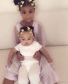 Cute Little Girls, Cute Kids, Little Ones, Cute Babies, Kardashian Family, Kardashian Jenner, Beautiful Children, Beautiful Babies, Cute Celebrities