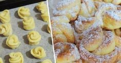 Amaretti from Italy - HQ Recipes My Favorite Food, Favorite Recipes, Bulgarian Recipes, Good Food, Yummy Food, Czech Recipes, Romanian Food, Rose Cake, Italian Dishes