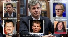 It Hits The Fan! FBI Director Christopher Wray Reads FISA Abuse Memo On Sunday And Suddenly Deputy Director Andrew McCabe Gone The Next Day