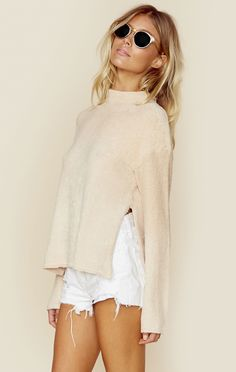 CAREFREE COZY JUMPER | @ShopPlanetBlue