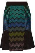 Textured-knit cotton-blend skirt | M Missoni | US | THE OUTNET