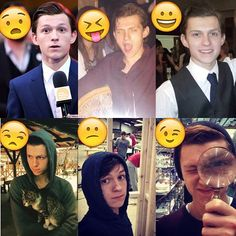 @tomholland2013 + emoji #tomholland #spiderman #spidermanhomecoming…