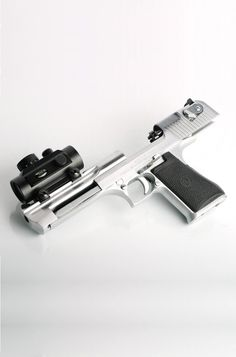 Desert Eagle pistol in Stainless
