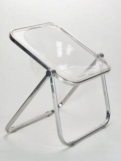 Home Decor Objects Ideas : Giancarlo Piretti . Design Furniture, Chair Design, Cool Furniture, Contemporary Furniture, Contemporary Design, Acrylic Furniture, Love Chair, Take A Seat, Mid Century Furniture
